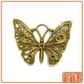 Ciondolo Farfalla bronzo