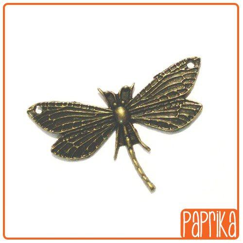 Ciondolo Libellula bronzo
