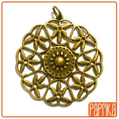 Ciondolo Medaglione bronzo