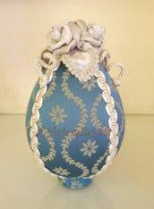 Uovo medio in seta di San Leucio