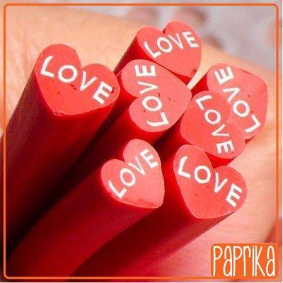 "2 Canes - cuore ""LOVE"""