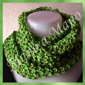 Scaldacollo in cotone - Verde