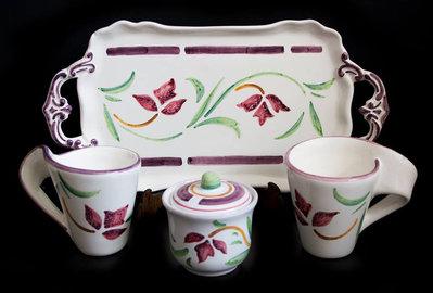 Tazze da thè in ceramica vietrese