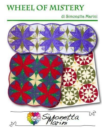 WHEEL OF MISTERY - set squadrette per patchwork