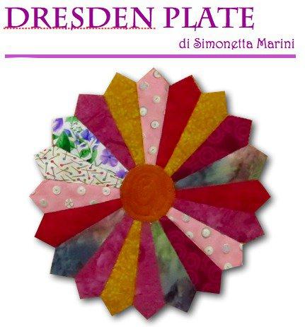 DRESDEN PLATE - PIATTO DI DRESDA a 12 sezioni