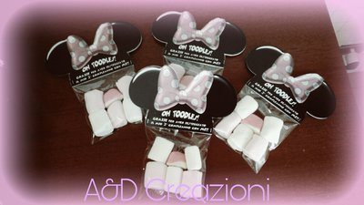 minnie mouse bomboniere compleanno