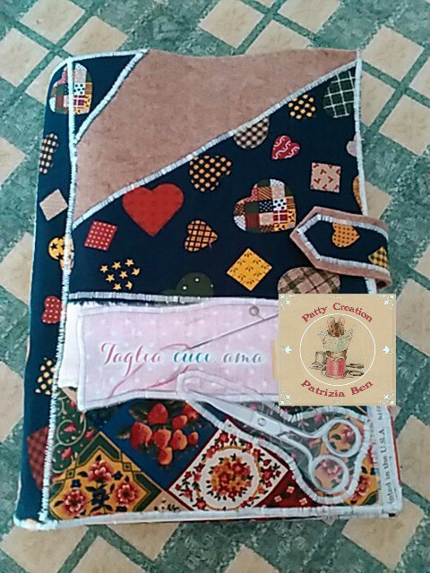 Porta Blocco patchwork