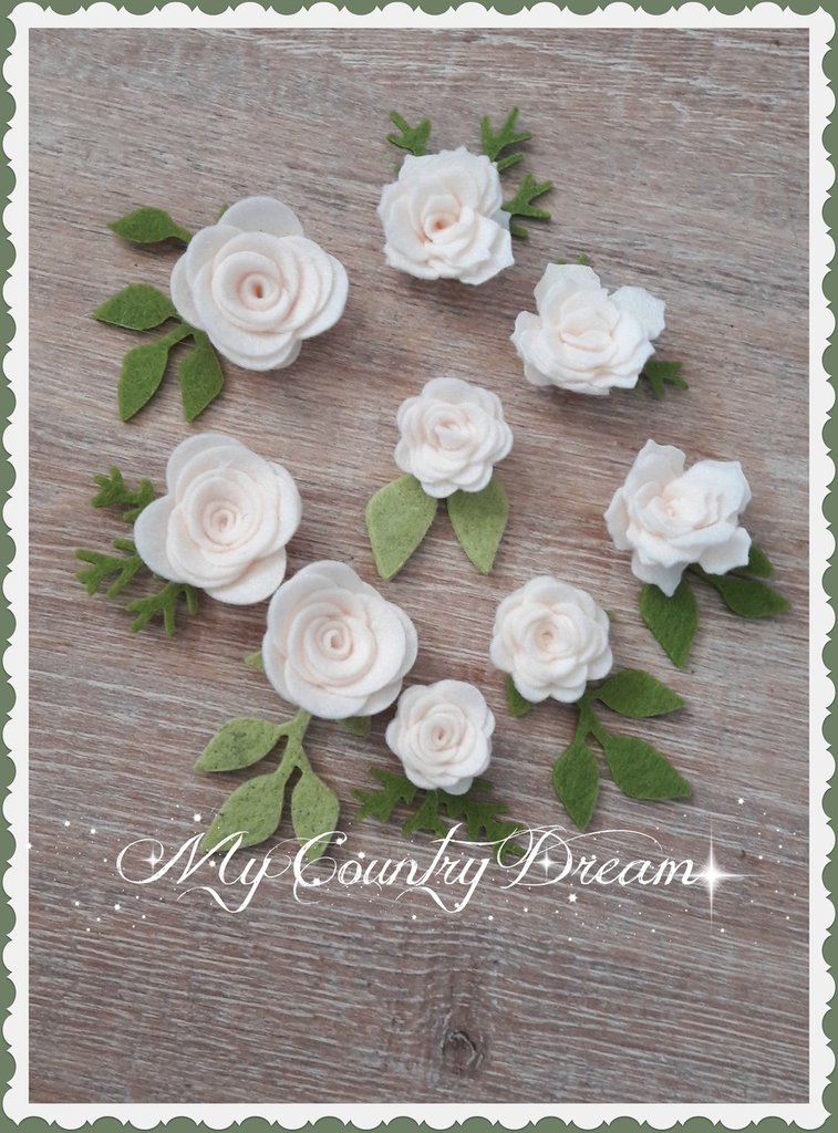 Set roselline panna
