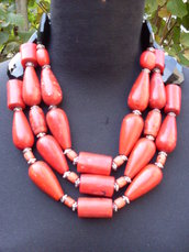 "Bright Coral   mod.""FIRE WOMAN"""