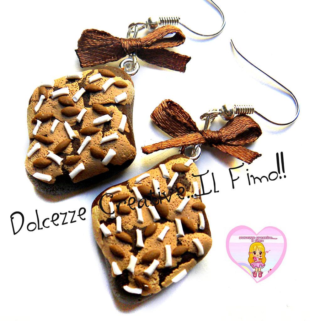 Orecchini Pasqua: Colomba! idea regalo, dolci tipici, miniature