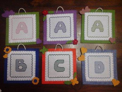 Quadretto Lettera Alfabeto