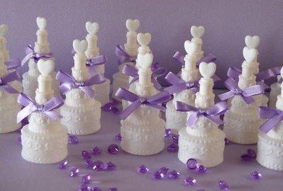 Bolle di sapone torta nuziale