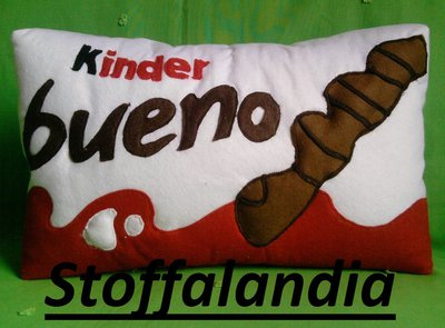 CUSCINO KINDER BUENO IDEA REGALO