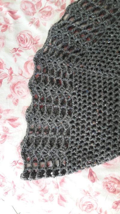 Scialle Della Nonna Bouclé Donna Abbigliamento Di Il Dolce Fa