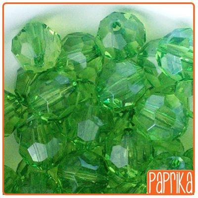 30 Perline acriliche sfaccettate