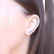Argento dell'orecchio Jacket - Giacca argento Ear - Argento