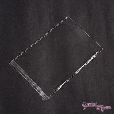 Lotto 10 sacchetti cellophane trasparenti, cm. 10x16