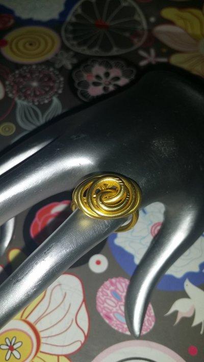Anello wire oro