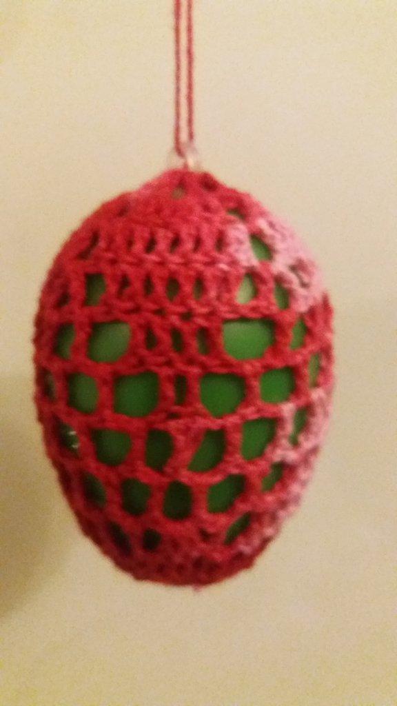 uova di pasqua al uncinetto