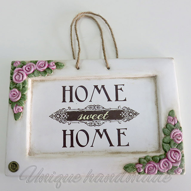 "Targa shabby "" Home sweet Home"""