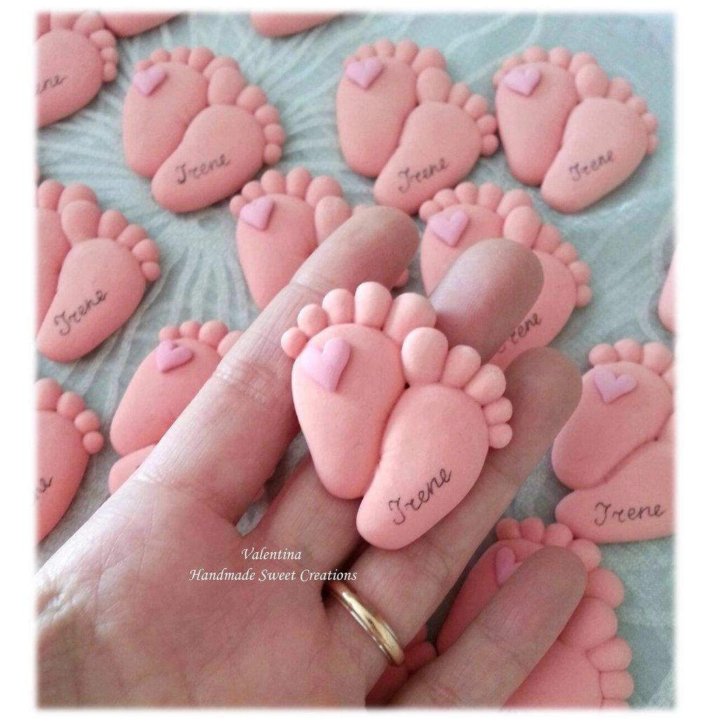 Per la piccola Irene- piedini calamita