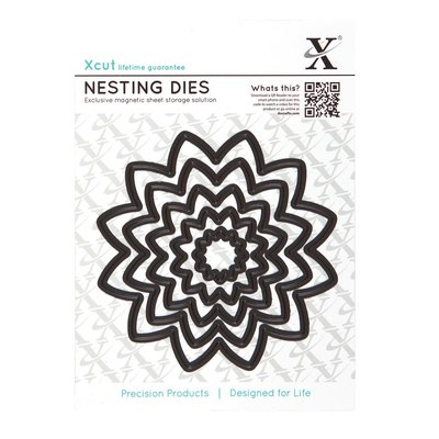 Xcut Nesting Dies (5pcs) - Flower (XCU 503414)