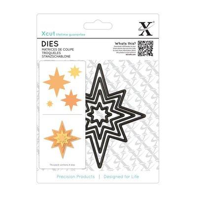 Nesting Dies (4pcs) - Star (XCU503913)