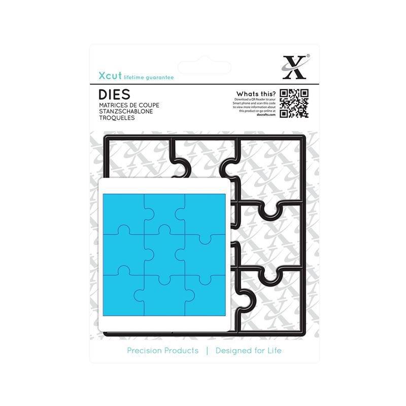 Xcut Dies (9pcs) - Jigsaw Pieces (XCU 503231)