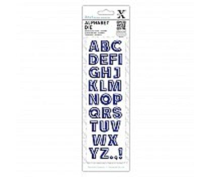 Xcut Alphabet Dies - Bevelled (XCU 504059)