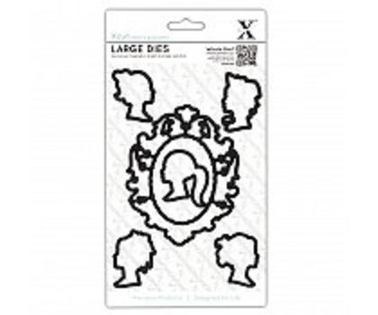 Xcut Decorative Dies (6pcs) - Cameos (Large) (XCU 503054)