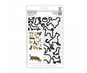 Xcut A5 Dies Set (15pcs) - Dogs (XCU 503206)
