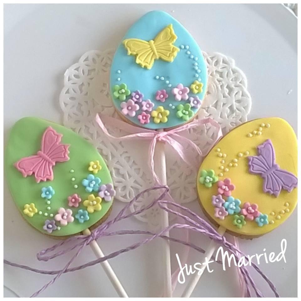 Biscotti decorati pasquali idea regalo pasqua bimbi for Oggetti da regalo