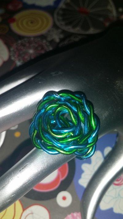 """Anello wire """"rosa"""""""