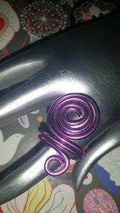 Anello viola wire