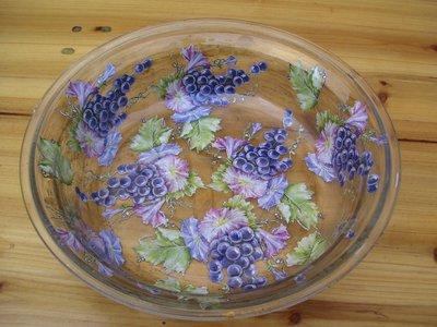Vassio frutta trasparente - decoupage