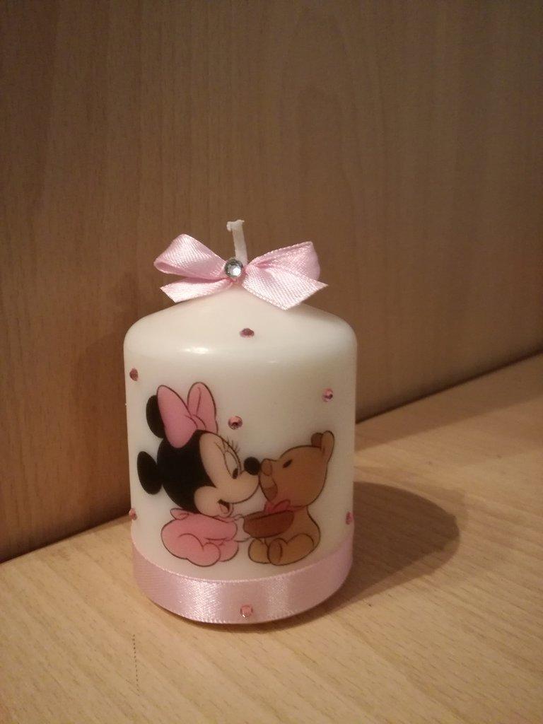 Candela candele personalizzate matrimonio battesimo compleanno cresima