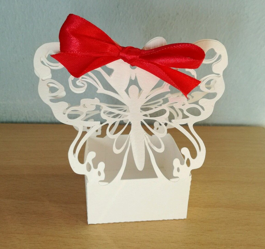 Scatolina bomboniera porta confetti comunione battesimo matrimonio nozze