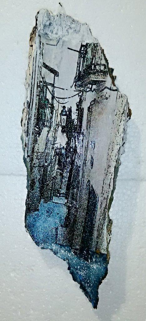 quadro. Vialetto di Bagnoli del Trigno