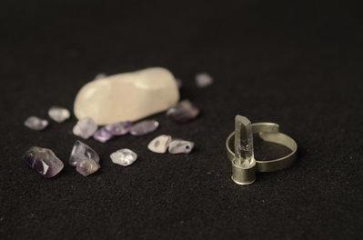 Anello Cristallo di Rocca