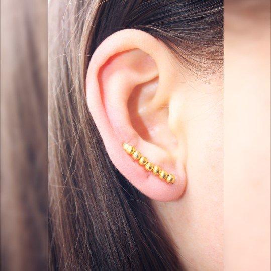 Climbers Ear minimalista, semplice orecchino del polsino
