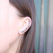 Argento dell'orecchio Climber - minimalista argento dell'orecchio Climber