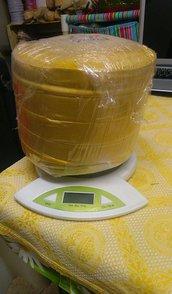 licra super leggera in rondella colore oro 2