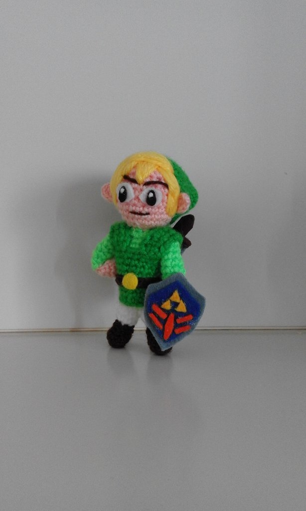 Link-The Legend of Zelda realizzato a mano