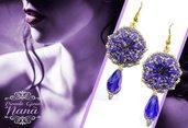 orecchini con goccia LIGHT BLUE