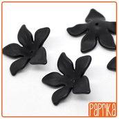 Mix 10 Perline Fiore 28x28mm