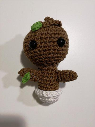 Baby Groot - Schema/pattern Amigurumi