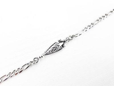 Bracciale uomo in acciaio (spada)