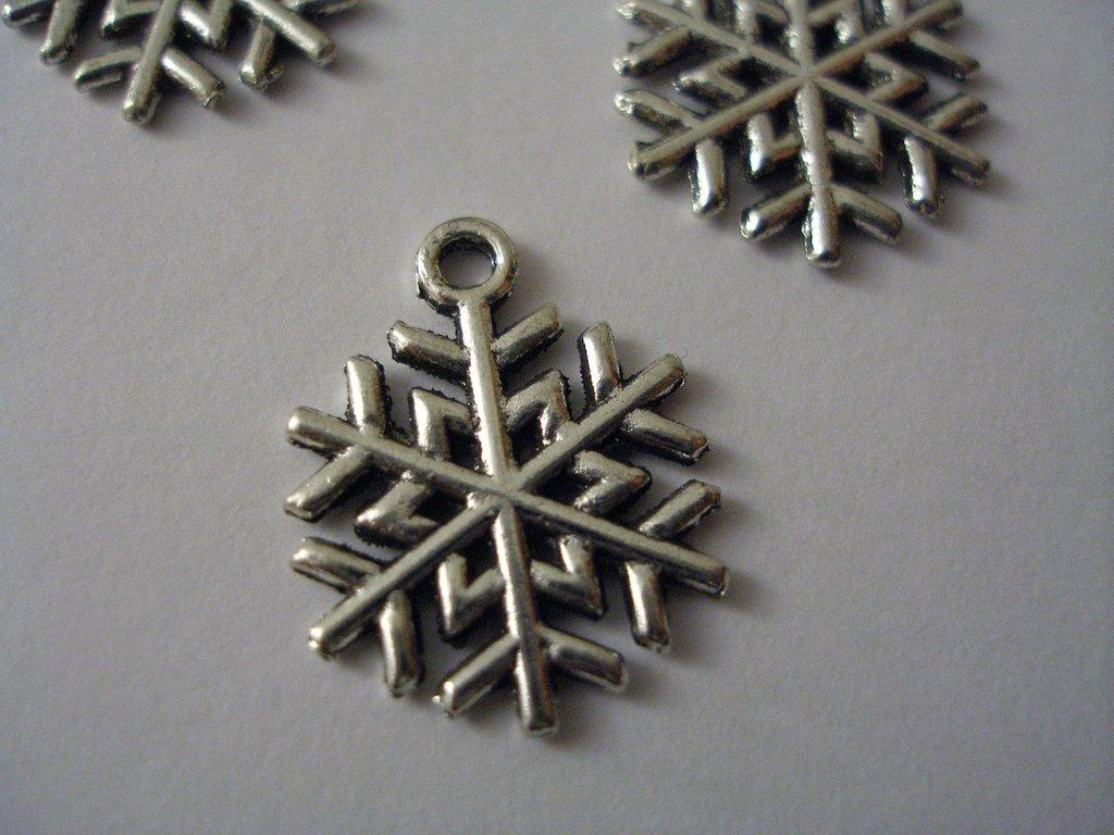 """Charms """"fiocchi di neve"""""""