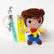 Ordine personalizzato per Chiara: amigurumi Woody Toy Story