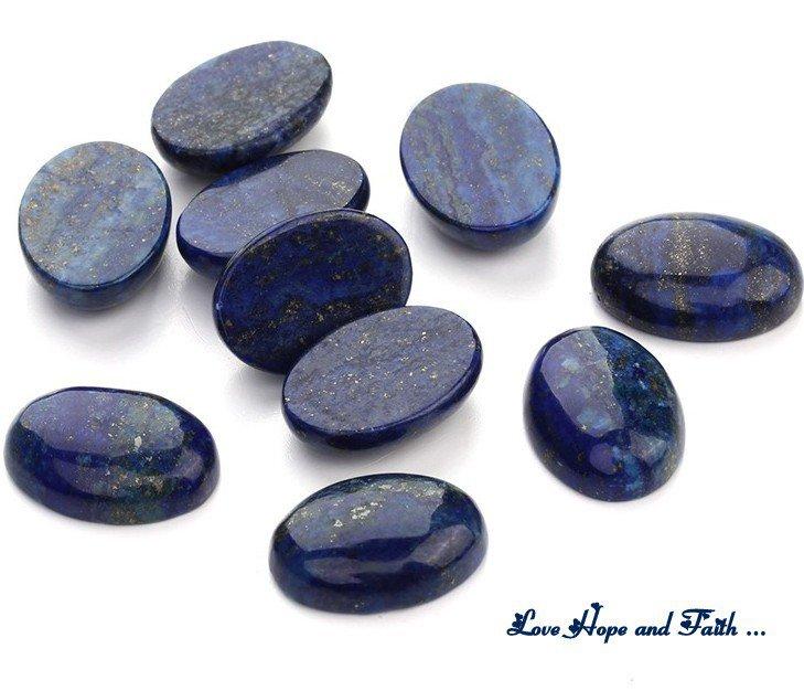 "Cabochon Ovale ""Lapislazzuli"" (13x18mm) (new pietre)"
